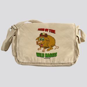Friend of The Wild Haggis Messenger Bag