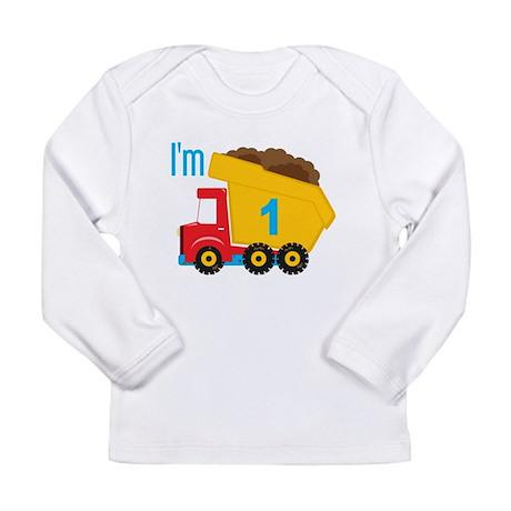 Dump Truck I'm 1 Long Sleeve T-Shirt