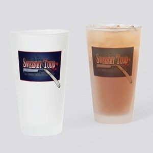 Sweeney Todd Cast Tshirts Drinking Glass