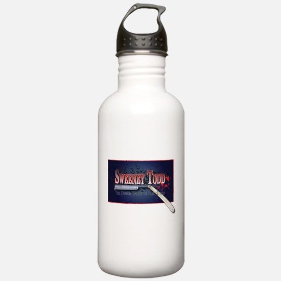 Sweeney Todd Cast Tshirts Water Bottle