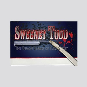 Sweeney Todd Cast Tshirts Rectangle Magnet