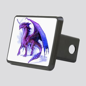 Purple Dragon Rectangular Hitch Cover