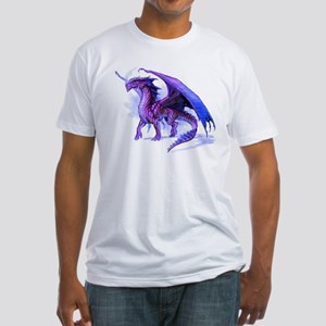 Purple Dragon Fitted T-Shirt