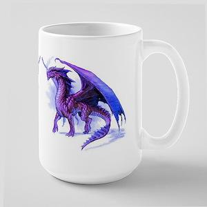 Purple Dragons Large Mug