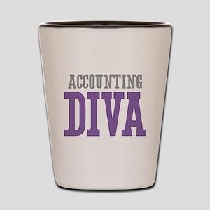Accounting DIVA Shot Glass