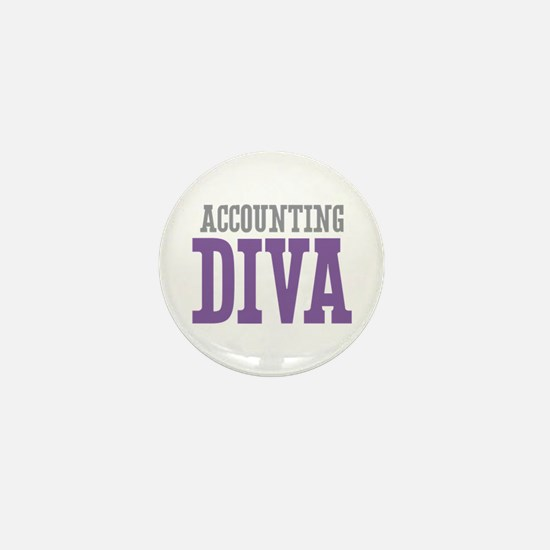Accounting DIVA Mini Button