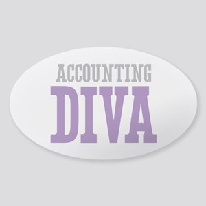 Accounting DIVA Sticker (Oval)