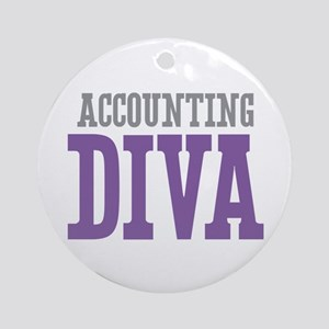 Accounting DIVA Ornament (Round)