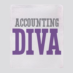 Accounting DIVA Throw Blanket