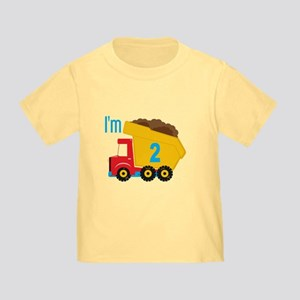 Dump Truck I'm 2 T-Shirt