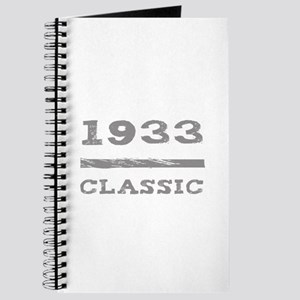 1933 Classic Grunge Journal
