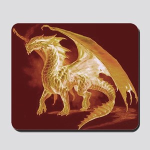 Gold Dragon Mousepad