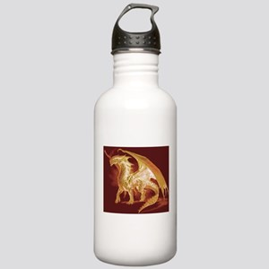Gold Dragon Stainless Water Bottle 1.0L