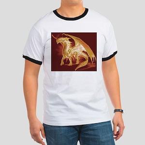 Gold Dragon Ringer T