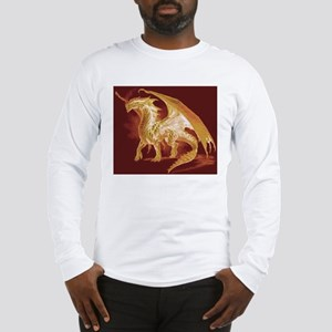 Gold Dragon Long Sleeve T-Shirt
