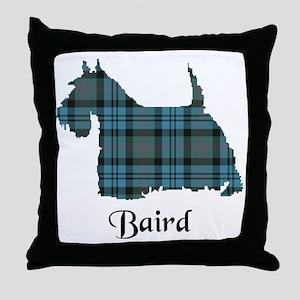 Terrier - Baird Throw Pillow