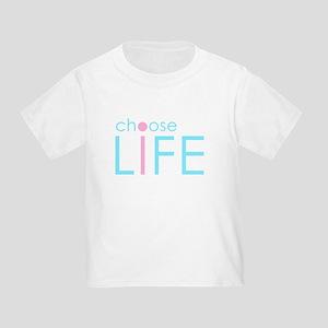 Choose Life : Blue T-Shirt