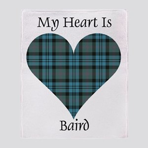 Heart - Baird Throw Blanket