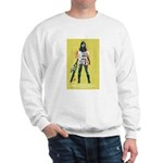 Naked Zombie Girl Sweatshirt