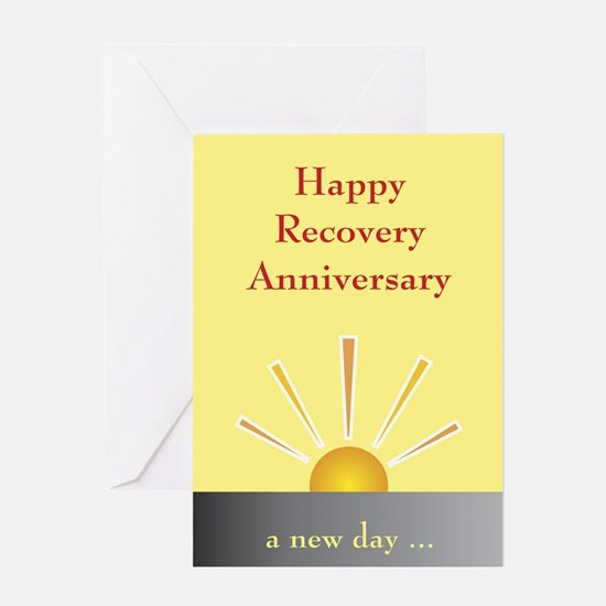 Greeting Card: Happy Recovery Anniversary