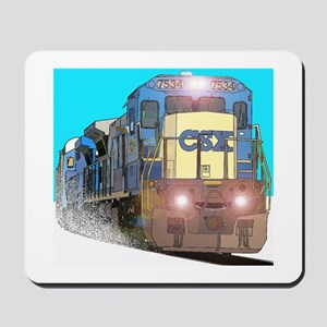 CSX Train Mousepad