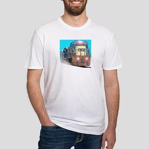 CSX Train Fitted T-Shirt
