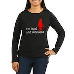 I Consent Women's Long Sleeve Dark T-Shirt