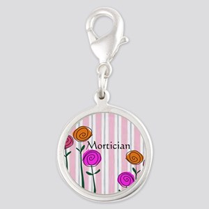 Mortician floral roses Charms