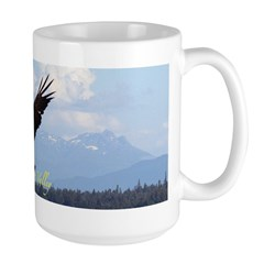 Baby Eagle Large Coffee Mug