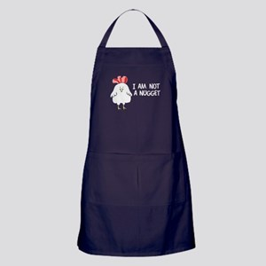 I Am Not A Nugget Apron (dark)