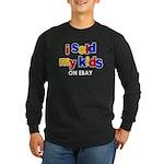 Sold Kids on Ebay Long Sleeve Dark T-Shirt