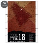 Cool Stars 18 Poster Puzzle
