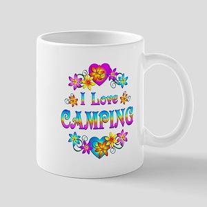 I Love Camping Mug