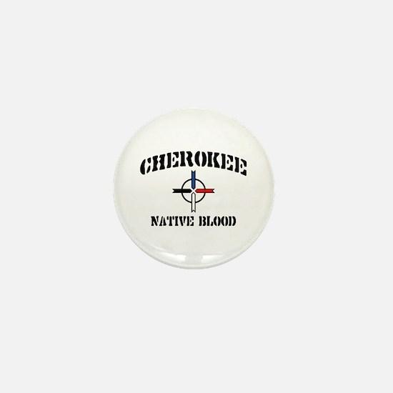 Cherokee Mini Button