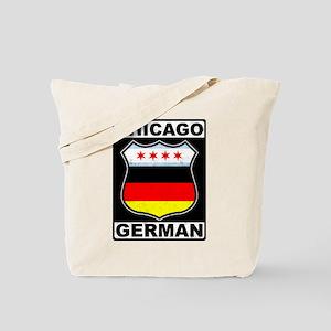 Chicago German American Sign Tote Bag