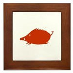 Boar in Japanese astorology Framed Tile