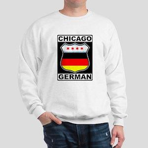 Chicago German American Sign Sweatshirt