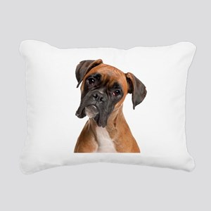 Boxer Rectangular Canvas Pillow