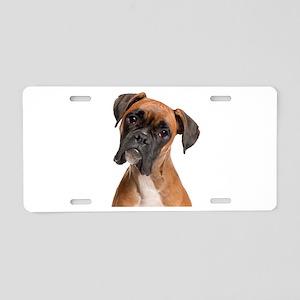 Boxer Aluminum License Plate