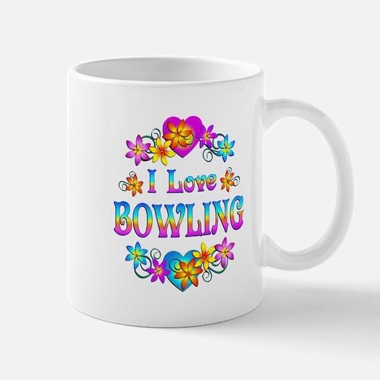 I Love Bowling Mug