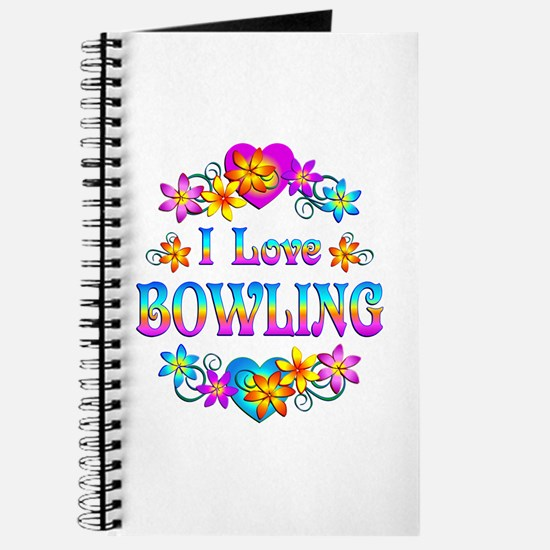 I Love Bowling Journal