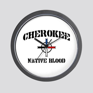 Cherokee Wall Clock