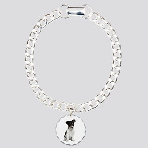 Jack Russell Terrier Charm Bracelet, One Charm