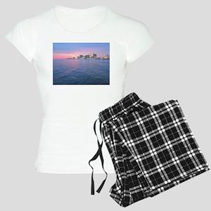 sunset on the water Women's Light Pajamas