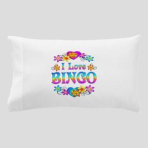 I Love Bingo Pillow Case