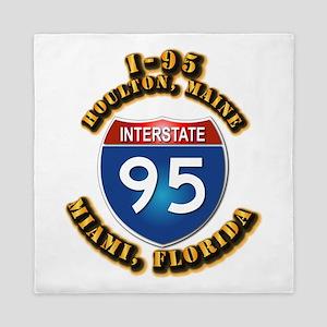 Interstate - 95 Queen Duvet