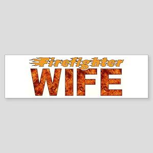 Firefighter Wife Sticker (Bumper)