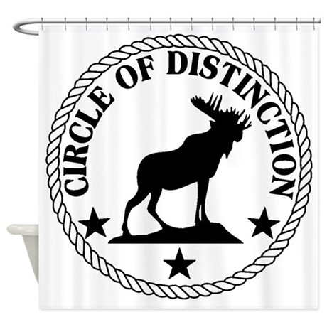 Moose International Shower Curtain by BrotherhoodGifts