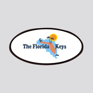 Florida Keys - Map Design. Patches