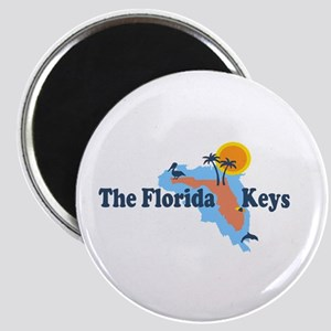 Florida Keys - Map Design. Magnet